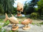 Wooden Fish Carving - Hand Carved Tropical Fish On Parasite Wood - Assorted