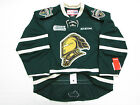 LONDON KNIGHTS AUTHENTIC GREEN OHL CCM EDGE 2.0 7287 HOCKEY JERSEY
