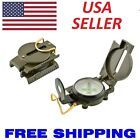 Portable Pocket Army Style Compass Military Camping Hiking Survival Marching New