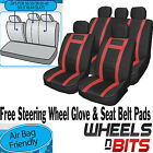 Opel Vauxhall Frontera Universal PU Leather Type Car Seat Covers Set Wipe Clean