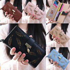 Women Lady Fashion Bifold Wallet Leather Clutch Card Holder Long Short Purse Hot