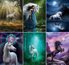 FANTASY UNICORN BLANK GREETING CARDS - ANNE STOKES