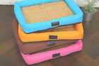 Pet Dog Real Cool Cushion Mat Pad Dog Cat Kennel Crate Cozy Soft House Bed Small