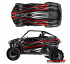 2008+ Polaris RZR 800 Design Burnout Decal Graphic Kit Wraps UTV Hood Scoop