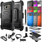 For Samsung GALAXY S7 /Edge Hard Shockproof Hybrid Protective Case Cover Holster