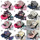WHOLE CABOODLE CarSeat Canopy 9pc Set STRETCH Baby Car Seat Cover nursing cover/