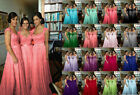 STOCK New Lace/Chiffon Formal Prom Party Ball Bridesmaid Evening Dress Size 6-20