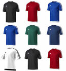 Adidas Boys Estro T Shirts Kids Football Sports Training PE Top Jersey Junior