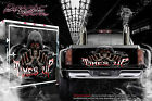 TRUCK TAILGATE HOOD WINDOW JEEP HARLEY GRAPHICS DECALS 'TIMES UP' REAPER STICKER