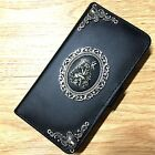 Внешний вид - Gothic Fairy Wallet Leather Flip Handmade Stand Case Cover For Apple iPhone