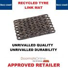 External Recycled Tyre Link Door Mat with Galvanised Wire Unbelievable Quality