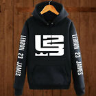 LeBron James hoodies men's hoodies cashmere zip sweater sweatshirt