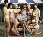 DF859 Sean Connery & Girls Of Goldfinger 8x10 11x14 Colorized Photo $4.95 USD