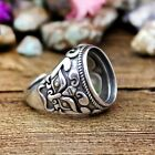 13.5*16.5mm Oval Cabochon Semi Mount Ring 925 Sterling Silver Men Wedding Ring