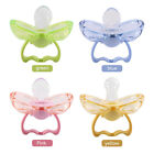 New Newborn Baby Safety Silicone Anti-dust Pacifier Auto Close Nipple Soother LJ