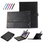 2in1 Touch Bluetooth Keyboard Stand Tablet Case Skin For PC IOS&Android&Windows