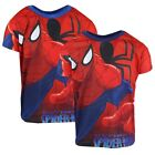Boys Ultimate Spiderman Spider Web Crew Neck T-Shirt Fashion Top 3 to 8 Years