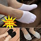 LOT 240Pairs Cotton Invisible No Show Nonslip Loafer Boat Liner Low Cut Socks BT