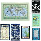 Marine Galley Cloths - Nautical Cotton Tea Towel - Various Designs -  ZS24
