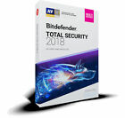 BITDEFENDER TOTAL SECURITY 2018 (1 Year) - Fast Delivery (eDelivery)