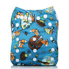 Baby Toddler Adjustable Washable Reusable Cloth Diaper Pocket Nappy Cover Wrap