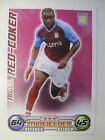 Topps Match Attax Trading Cards 2008/09: Aston Villa (Choose Player from List)
