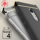 For Xiaomi Mi A1/Redmi 5 Plus Note 4X 5A Electroplate Bumper Hybrid Case Cover