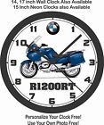 2009 BMW R1200RT WALL CLOCK-FREE USA SHIP, YAMAHA, TRIUMPH, HONDA, KAWASAKI