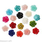 """Wholesale Coral Beads Rose Shaped Mixed Multi-colored 9mm x8mm( 3/8"""" x 3/8"""")"""