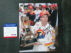 Darrell Waltrip Hot! IP signed Nascar legend 8x10 photo PSA/DNA cert