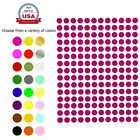 Round Stickers ~1/4 Inch 8mm Small Colored Dots Round Circular Labels 840 Pack