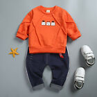 2pc Toddler Baby Boys Clothes T Shirt+Pants Kids Sportswear Clothes Casual Sets