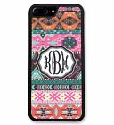 Personalized Hipster Aztec Case for iPhone 7, 7 Plus, 6, 6S, 6 Plus 6S Plus 5/5S