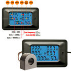 NEW AC 110V 220V Voltage Current Amp 100A Power Factor KWH Frequency Panel Meter