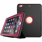 """For iPad 9.7"""" 2017/Air 2/ Mini/2 3 4 Kids Shockproof Hard Armor Smart Case Cover"""