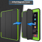 "For Ipad 9.7"" 2017/air 2/ Mini/2 3 4 Kids Shockproof Hard Armor Smart Case Cover"