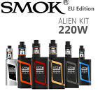 100 % AUTHENTIC SMOK ALIEN VAPE KIT 220W TC MOD  TFV8 BABY TANK E-Cigarette