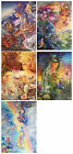 FANTASY NEW AGE GREETING CARDS - BY JOSEPHINE WALL - BLANK FOR ALL OCCASION