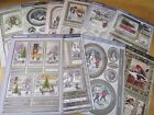 Hunkydory White Christmas Luxury Card Sets - 1 Topper Sheet & 2 Backings Cards