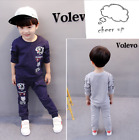 2pc Baby Toddler Boys Clothes Outfits Sweater Tiger TShirt+Pants Kids Casual Set