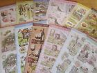 Hunkydory Shabby Chic & Rustic Charm Deco Large Die-cut Decoupage Sets
