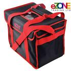 """Strong Food Delivery Bag 14x10x12"""" for Takeaway Kebab Indian Chinese Pizza"""