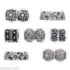 Wholesale Mixed DIY Flower Charm Spacer Beads Fit Charm Bracelets