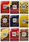 Ritter Sport Chocolate - Assorted Varieties - 5 packs of 100gm Bars