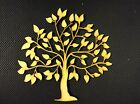 MDF Tree Shape - Wooden Craft Blank - Family Tree Crafting Wedding Guestbook