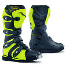Forma COUGAR youth kids neon motocross motorcycle boots