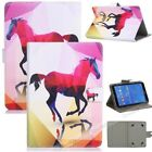 """New For Samsung Galaxy Tab A6 7""""/10.1"""" T280 T580 Universal PU Leather Case Cover"""