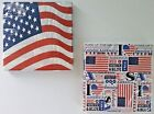 PATRIOTIC COCKTAIL BEVERAGE American Flag UsA PARTY LUNCHEON NAPKINS 20 Count