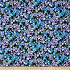 PETAL PARTY IRIS FLORAL QUILT SEWING FABRIC *Free Oz Post