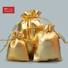 Wholesale Gift Pouch Silk Bag Kit Small Gold Jewelry Packing Chinese Gift bag